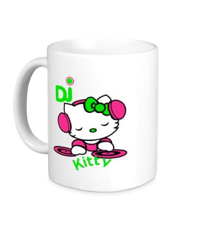 Керамическая кружка Kitty Dj