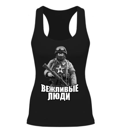 Женская борцовка Вежливые люди РФ