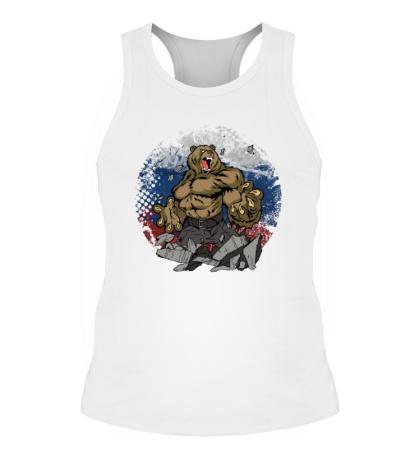 Мужская борцовка Русская мощь медведя