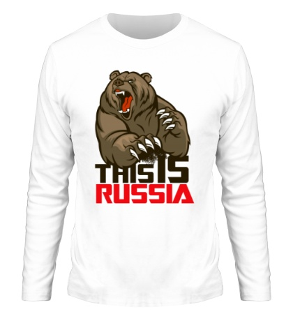 Мужской лонгслив This is Russia