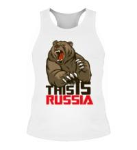 Мужская борцовка This is Russia