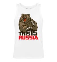 Мужская майка This is Russia