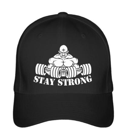 Бейсболка Stay strong
