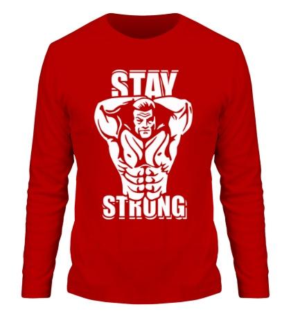 Мужской лонгслив Stay strong