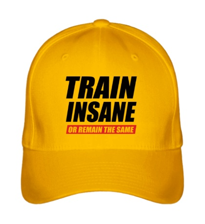 Бейсболка Train insane or remain the same