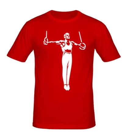 Мужская футболка Гимнаст