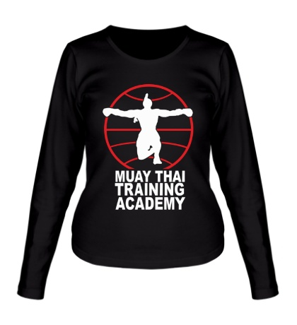 Женский лонгслив Muay Thai Training Academy