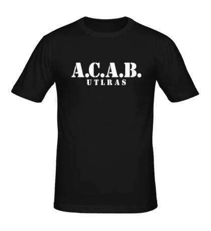 Мужская футболка A.C.A.B Ultras Team