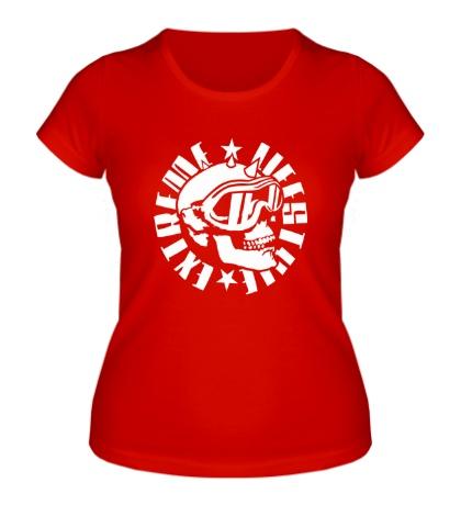 Женская футболка Extreme lifestyle