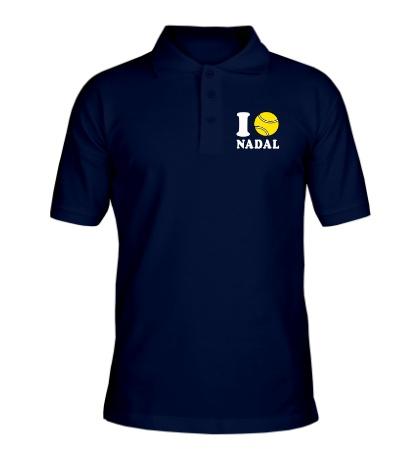 Рубашка поло I love Nadal