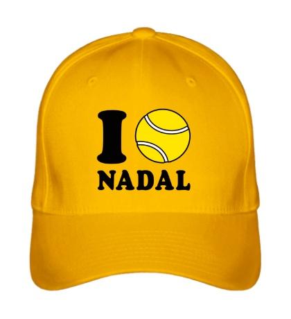 Бейсболка I love Nadal
