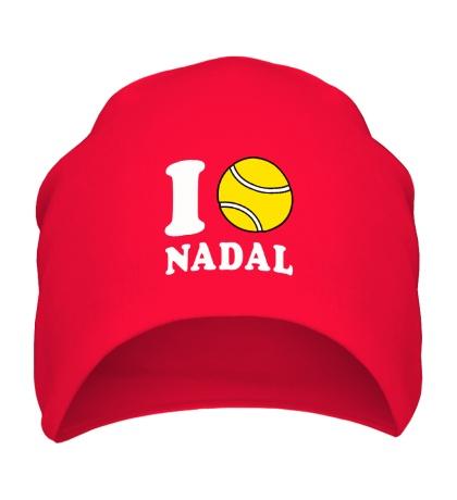 Шапка I love Nadal