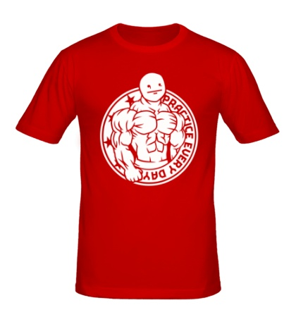 Мужская футболка Тренируйся каждый день