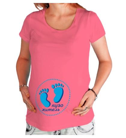 Футболка для беременной Пяточки пузожителя