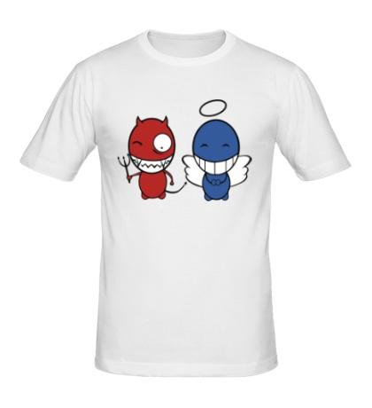 Мужская футболка Demon-angel