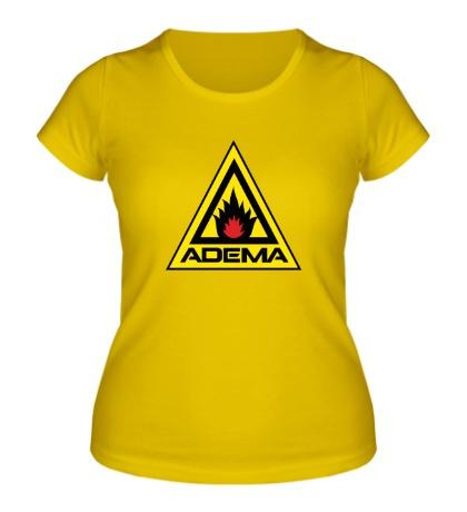 Женская футболка Adema