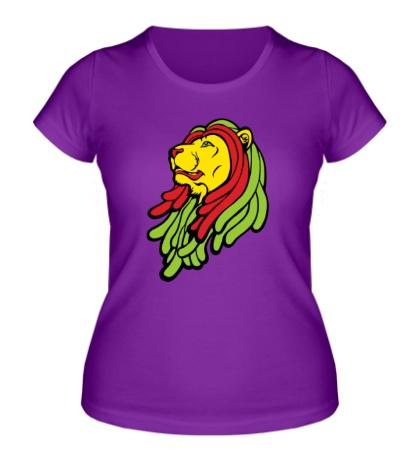 Женская футболка Раста-лев