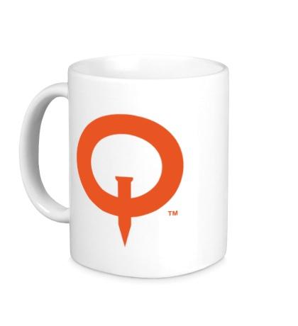 Керамическая кружка Quake