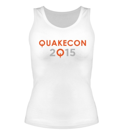 Женская майка Quakecon 2015
