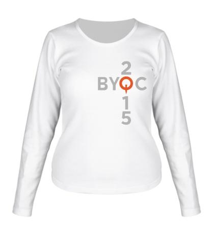 Женский лонгслив BYOC 2015