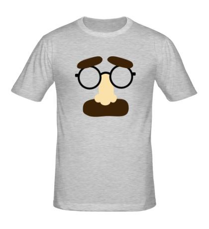 Мужская футболка Усы