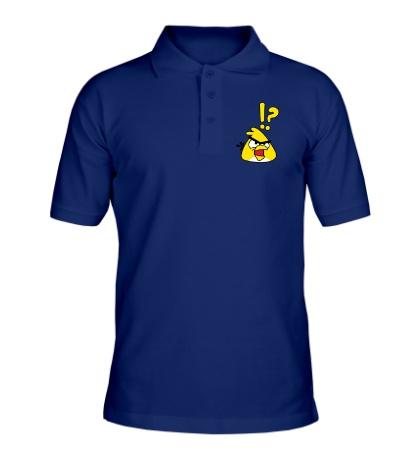 Рубашка поло Angry Birds: Yellow Bird