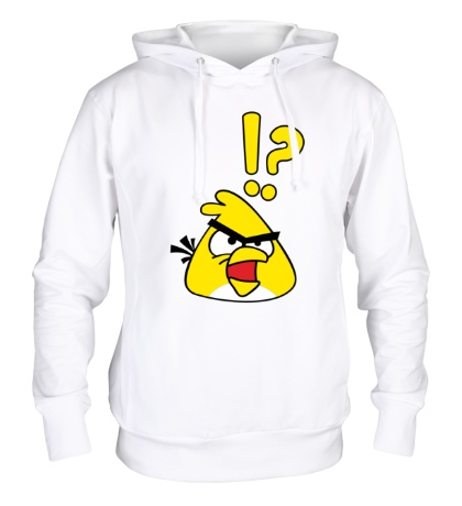 Толстовка с капюшоном Angry Birds: Yellow Bird