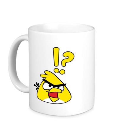 Керамическая кружка Angry Birds: Yellow Bird