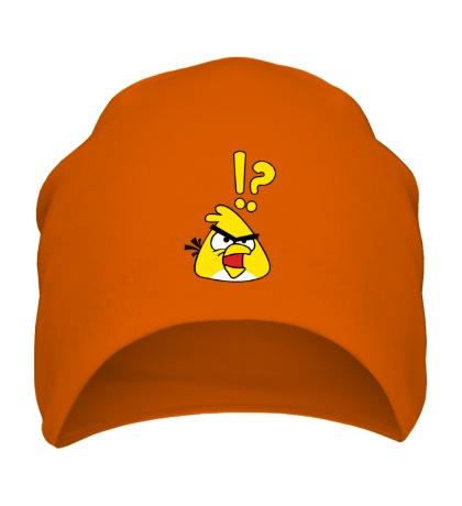 Шапка Angry Birds: Yellow Bird
