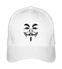 Бейсболка Маска анонимуса