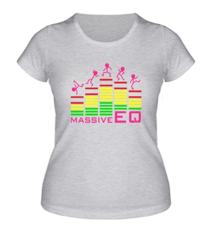 Женская футболка Massive EQ