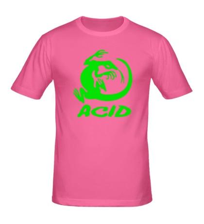 Мужская футболка Acid iguana