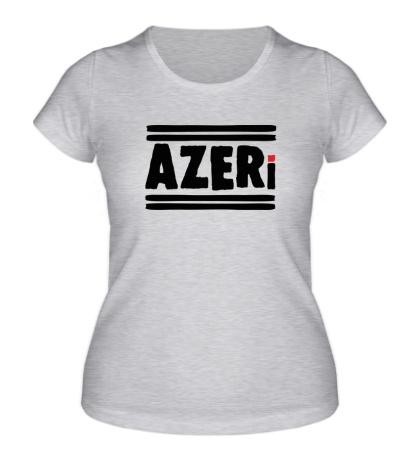 Женская футболка Azeri