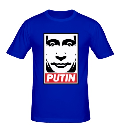 Мужская футболка Putin Poster