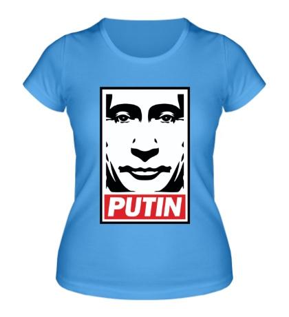 Женская футболка Putin Poster