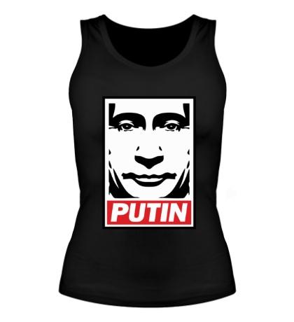Женская майка Putin Poster