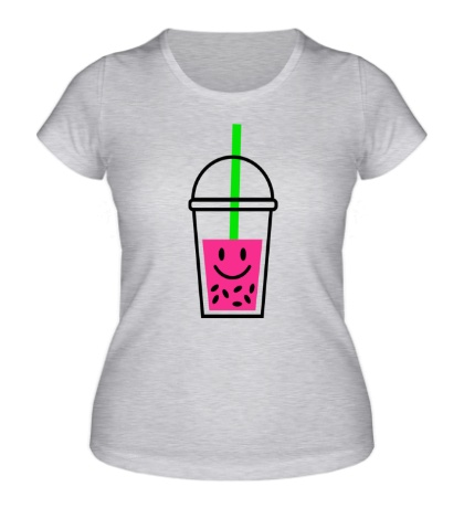 Женская футболка Веселый напиток