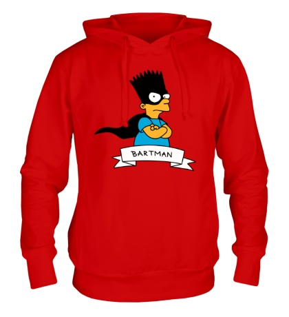 Толстовка с капюшоном Bartman