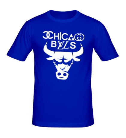 Мужская футболка Chicago Bulls fun logo