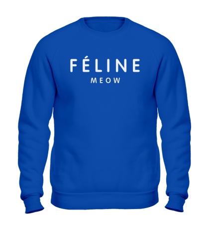 Свитшот Feline meow