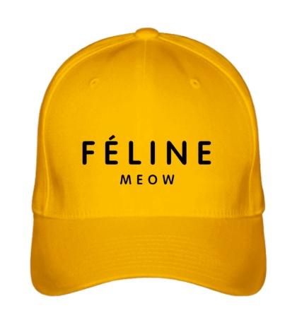 Бейсболка Feline meow