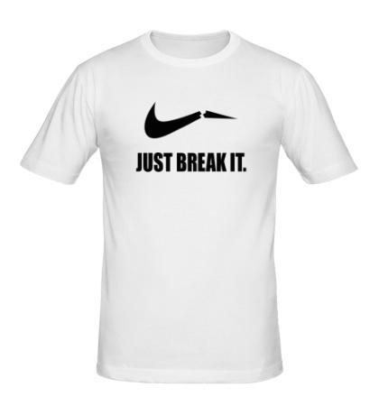 Мужская футболка Just break it