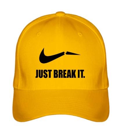 Бейсболка Just break it