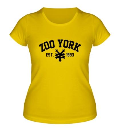 Женская футболка Zoo York