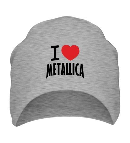 Шапка I love Metallica