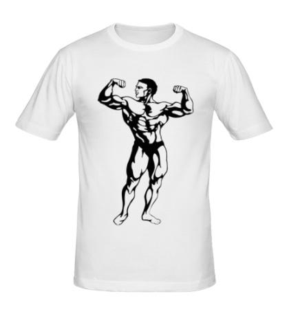 Мужская футболка Бодибилдер