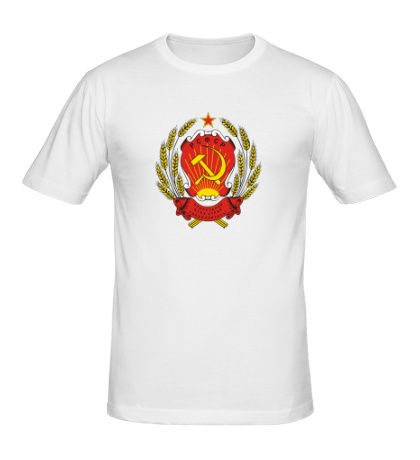 Мужская футболка Герб РСФСР