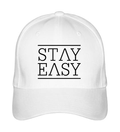 Бейсболка Stay easy