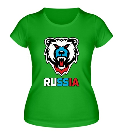 Женская футболка Russian Power