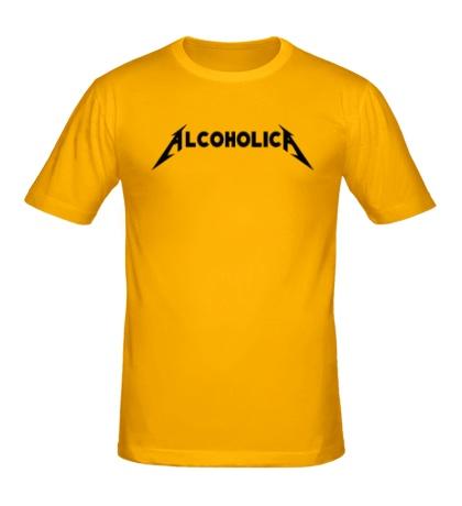 Мужская футболка Alcoholica